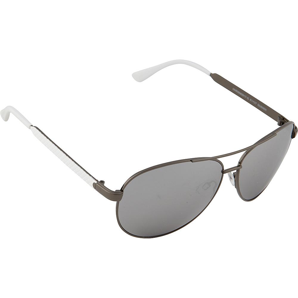 Rocawear Sunwear R1427 Men s Sunglasses Gun White Rocawear Sunwear Sunglasses