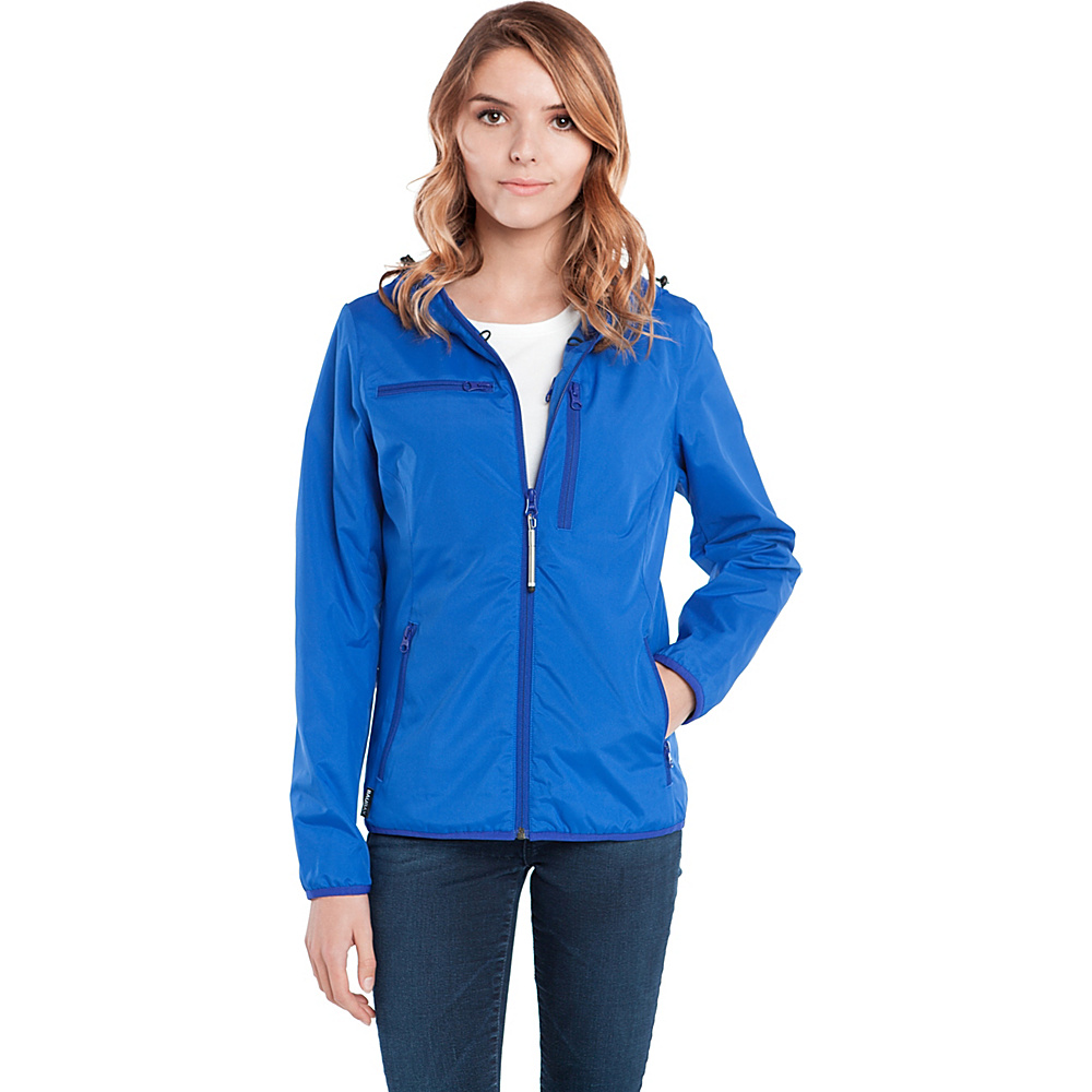 BAUBAX WINDBREAKER M Blue BAUBAX Women s Apparel