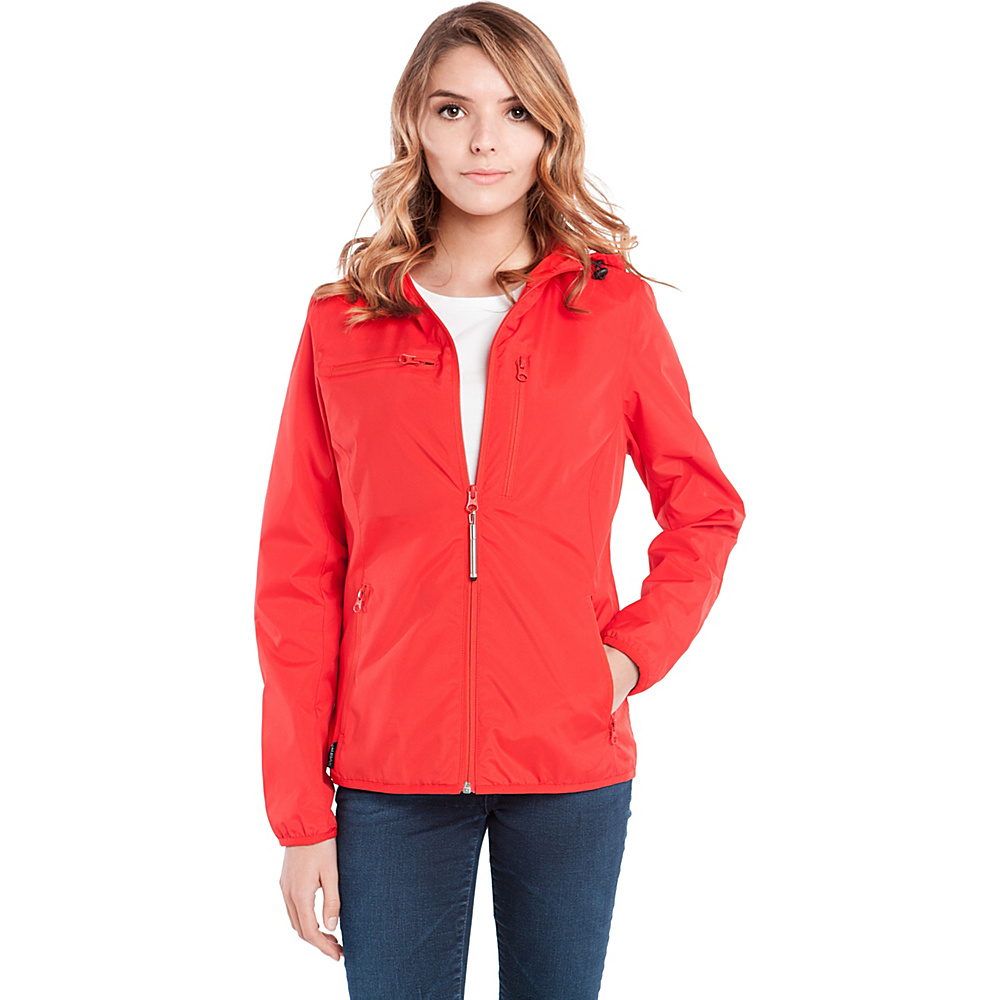 BAUBAX WINDBREAKER M Red BAUBAX Women s Apparel