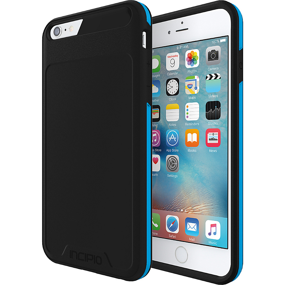 Incipio Performance Series Level 3 for iPhone 6 Plus / 6s Plus Black/Cyan - Incipio Electronic Cases - Technology, Electronic Cases