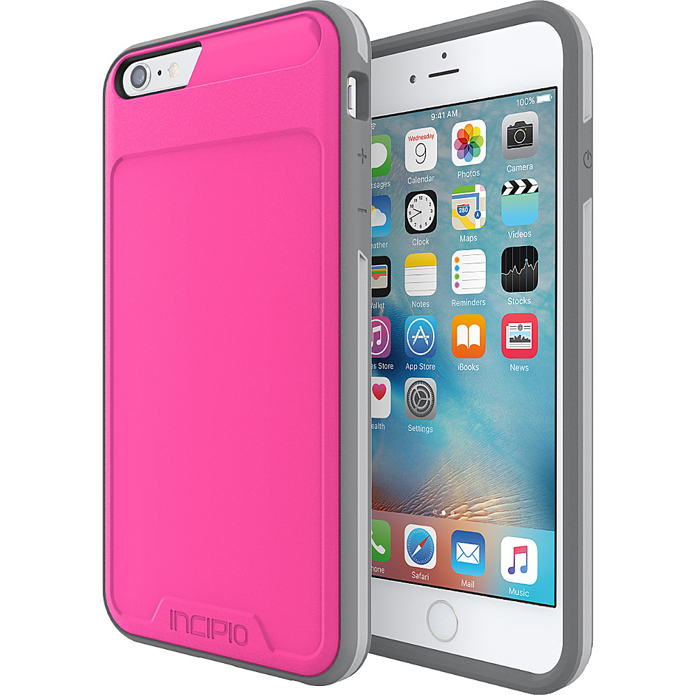 Incipio Performance Series Level 3 for iPhone 6 Plus / 6s Plus Pink/Gray - Incipio Electronic Cases - Technology, Electronic Cases