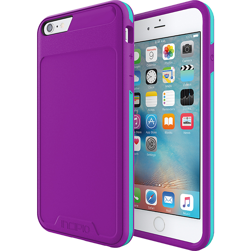 Incipio Performance Series Level 3 for iPhone 6 Plus / 6s Plus Purple/Teal - Incipio Electronic Cases - Technology, Electronic Cases