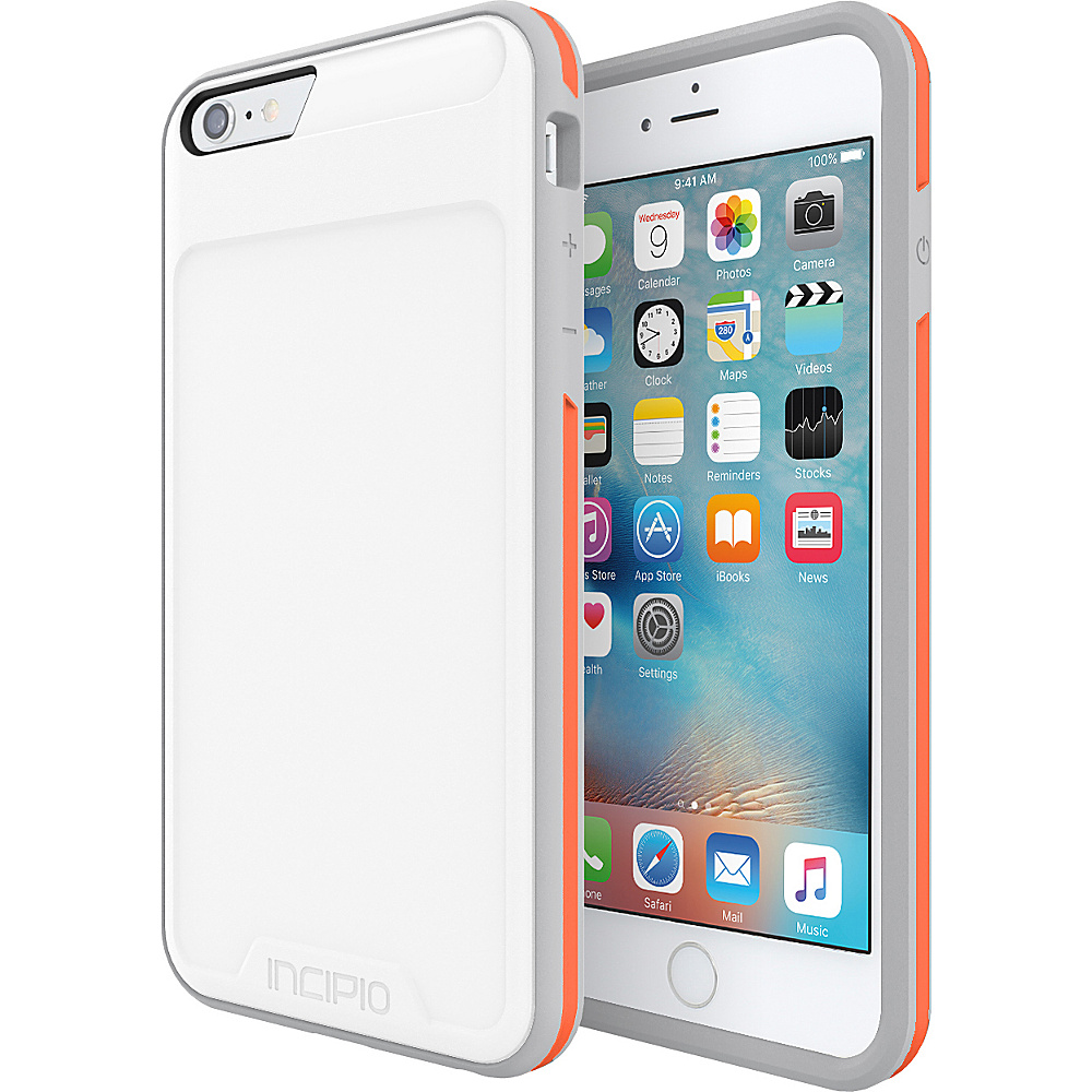 Incipio Performance Series Level 3 for iPhone 6 Plus / 6s Plus White/Orange - Incipio Electronic Cases - Technology, Electronic Cases