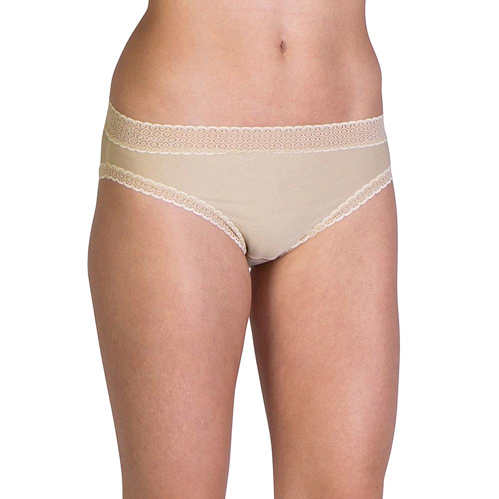 ExOfficio Give-N-Go Lacy Bikini Brief M - Nude - ExOfficio Womens Apparel - Apparel & Footwear, Women's Apparel