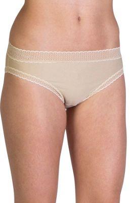 ExOfficio Give-N-Go Lacy Bikini Brief S - Nude - ExOfficio Women's Apparel