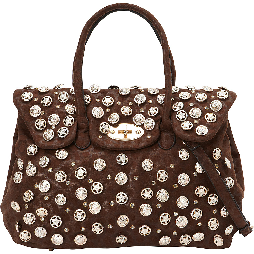 SW Global Robin Satchel Bag Coffee - SW Global Manmade Handbags - Handbags, Manmade Handbags