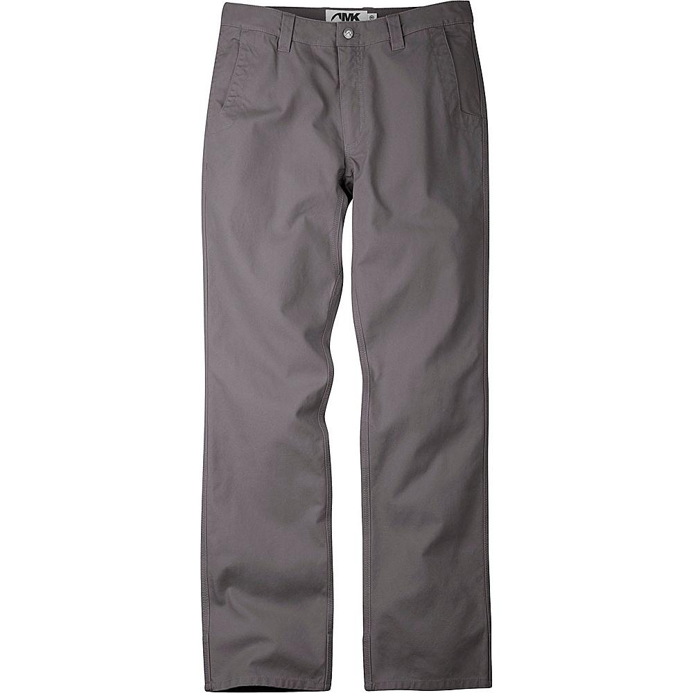 Mountain Khakis Slim Fit Original Mountain Pants 38 - 30in - Granite - 31W 30L - Mountain Khakis Mens Apparel - Apparel & Footwear, Men's Apparel