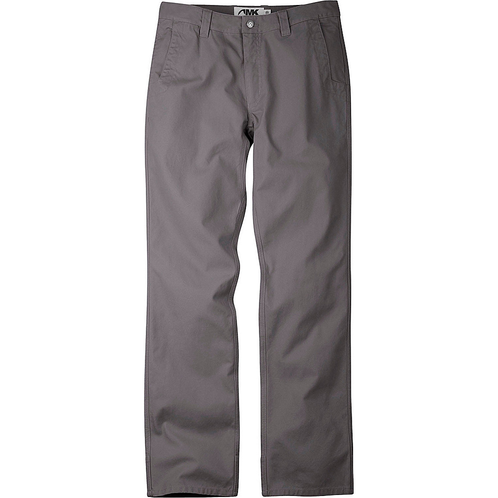 Mountain Khakis Slim Fit Original Mountain Pants 42 - 30in - Granite - 31W 30L - Mountain Khakis Mens Apparel - Apparel & Footwear, Men's Apparel