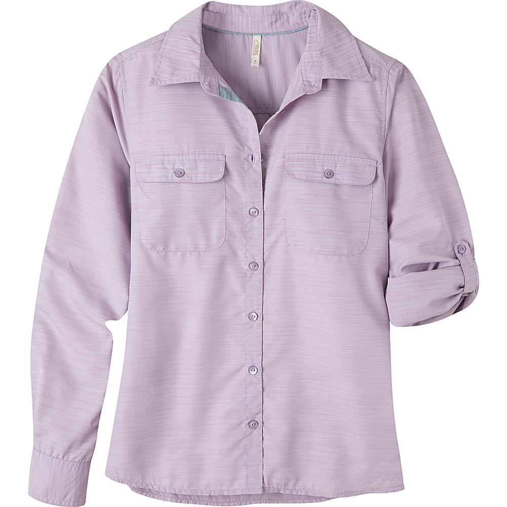 Mountain Khakis Equatorial Long Sleeve Shirt XL - Hibiscus - Mountain Khakis Womens Apparel - Apparel & Footwear, Women's Apparel