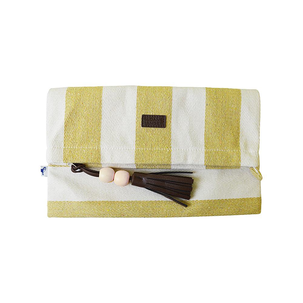 Sloane Ranger Foldover Clutch Varsity Gold Sloane Ranger Fabric Handbags