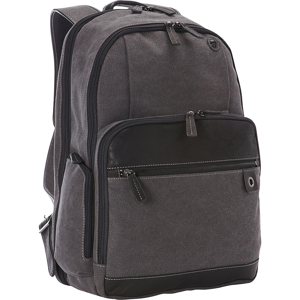 Goodhope Bags The Noble Computer Tablet Backpack Dark Grey Goodhope Bags Business Laptop Backpacks