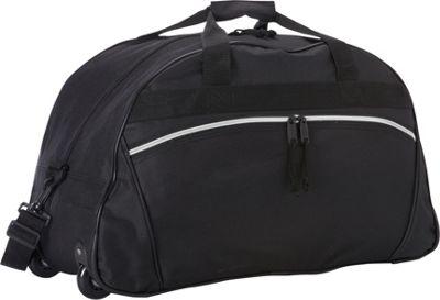 Goodhope Bags Rolling Duffel Black - Goodhope Bags Rolling Duffels