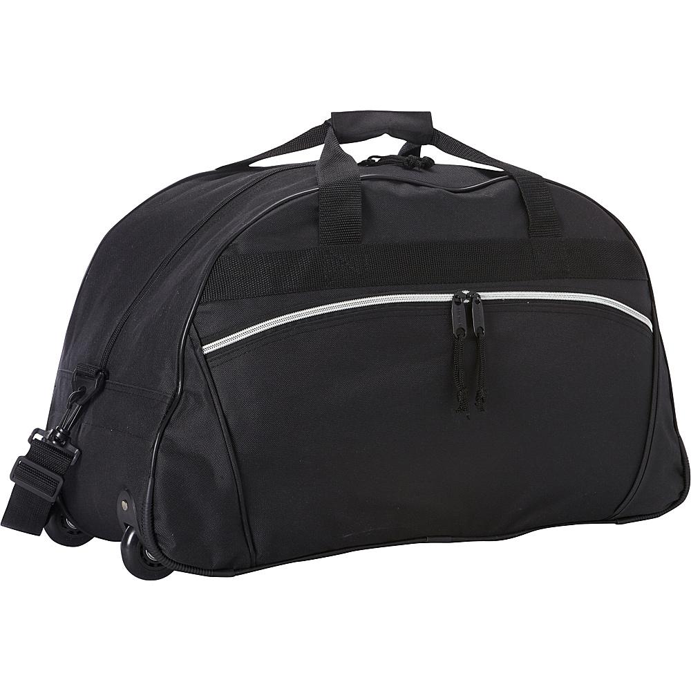 Goodhope Bags Rolling Duffel Black Goodhope Bags Rolling Duffels