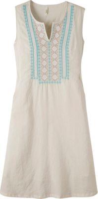 Mountain Khakis Sunnyside Dress XL - Cream - Mountain Khakis Women's Apparel