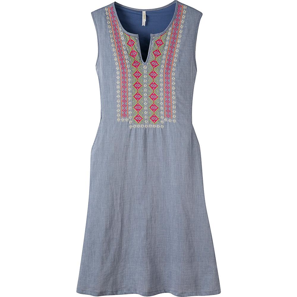 Mountain Khakis Sunnyside Dress S - Clear Blue - Mountain Khakis Womens Apparel - Apparel & Footwear, Women's Apparel