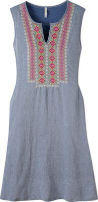 Mountain Khakis Sunnyside Dress M - Clear Blue - Mountain Khakis Women's Apparel