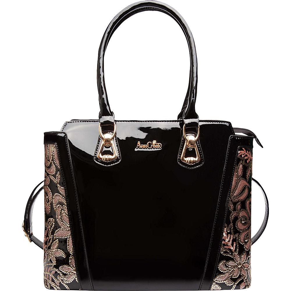 Ann Creek Women s Banny Metallic Tote Bag Black Multi Ann Creek Manmade Handbags