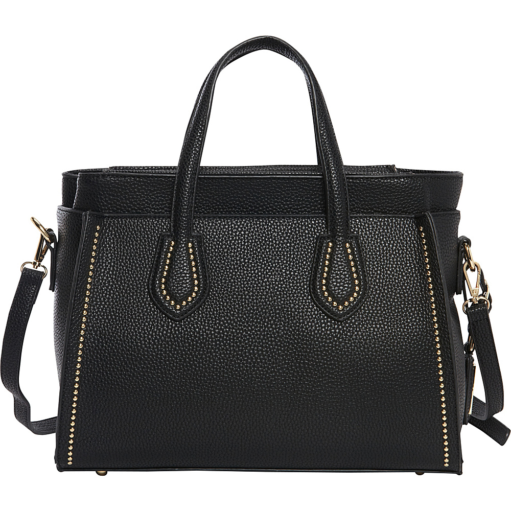 Hush Puppies Haley Satchel Black Hush Puppies Manmade Handbags