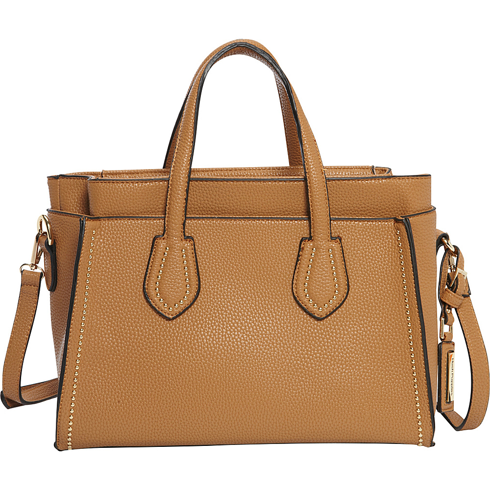 Hush Puppies Haley Satchel Taupe Hush Puppies Manmade Handbags
