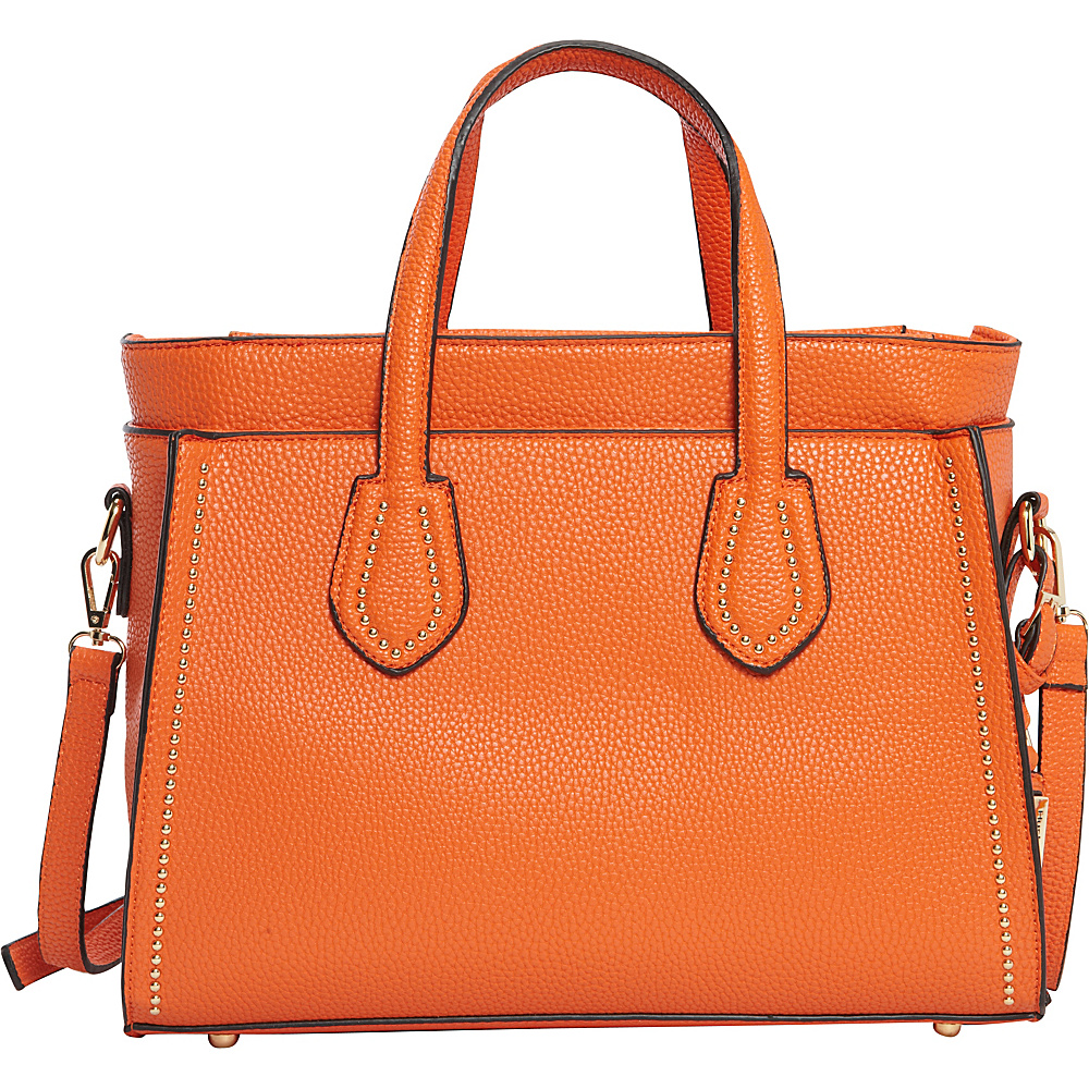 Hush Puppies Haley Satchel Orange Hush Puppies Manmade Handbags