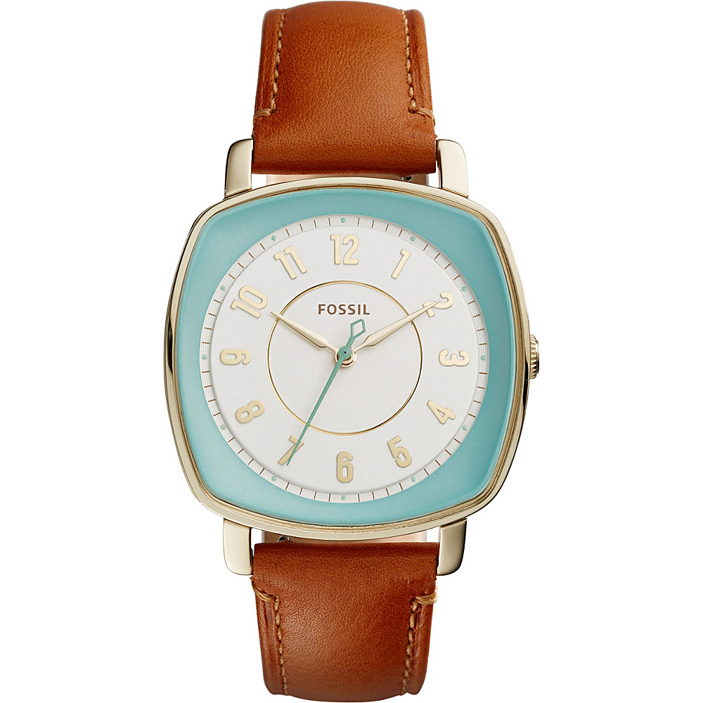 Fossil Visionist Leather Watch Brown - Fossil Watches - Fashion Accessories, Watches