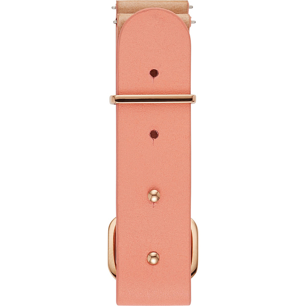 Fossil Leather 18mm Rivet Watch Strap Pink - Fossil Watches - Fashion Accessories, Watches