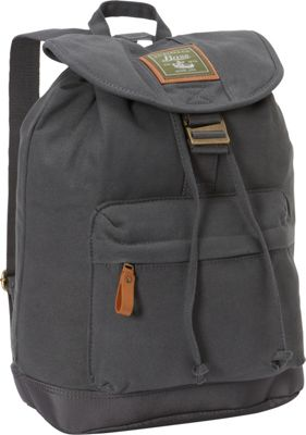 GH Bass & CO Luggage Tamarack Flap Over Backpack Gray - GH Bass & CO Luggage Everyday Backpacks