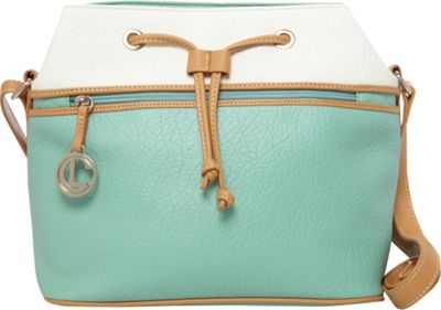 Aurielle-Carryland Contempo Pebble Drawstring Mint - Aurielle-Carryland Manmade Handbags