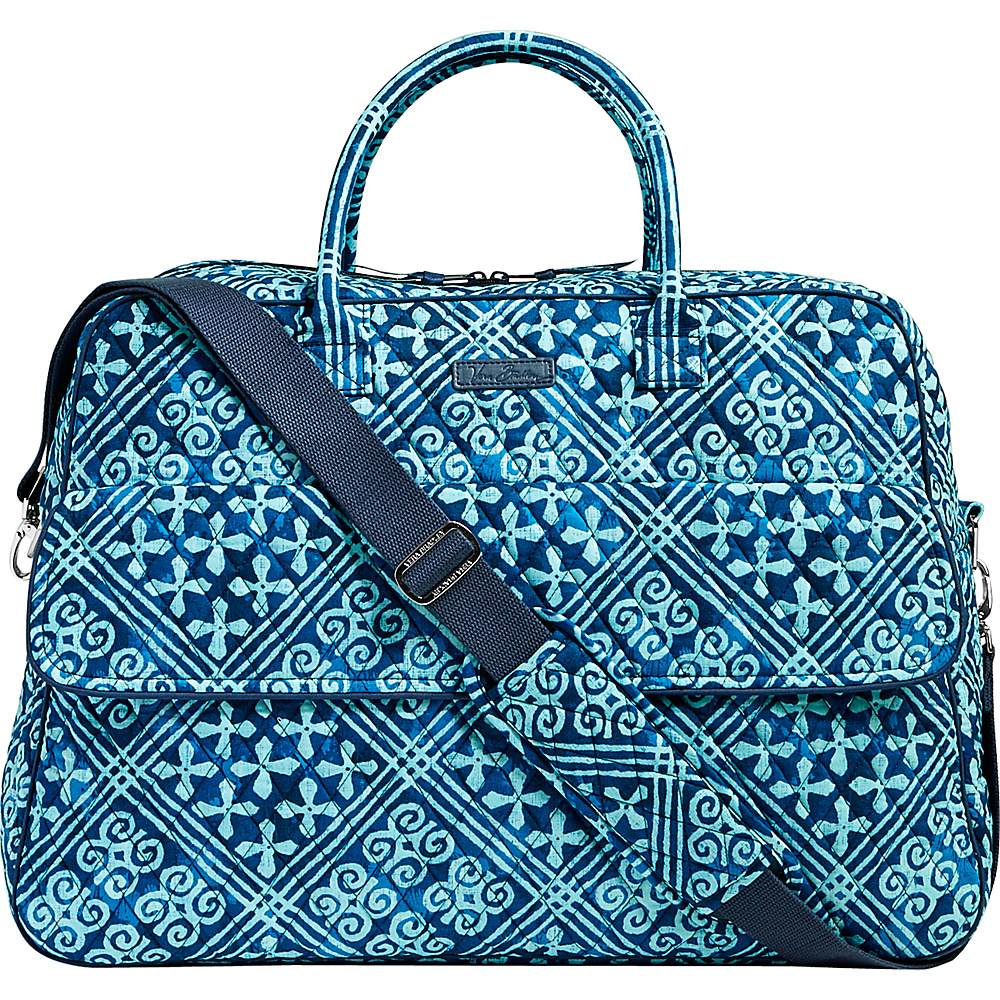 Vera Bradley Grand Traveler Cuban Tiles - Vera Bradley Luggage Totes and Satchels - Luggage, Luggage Totes and Satchels
