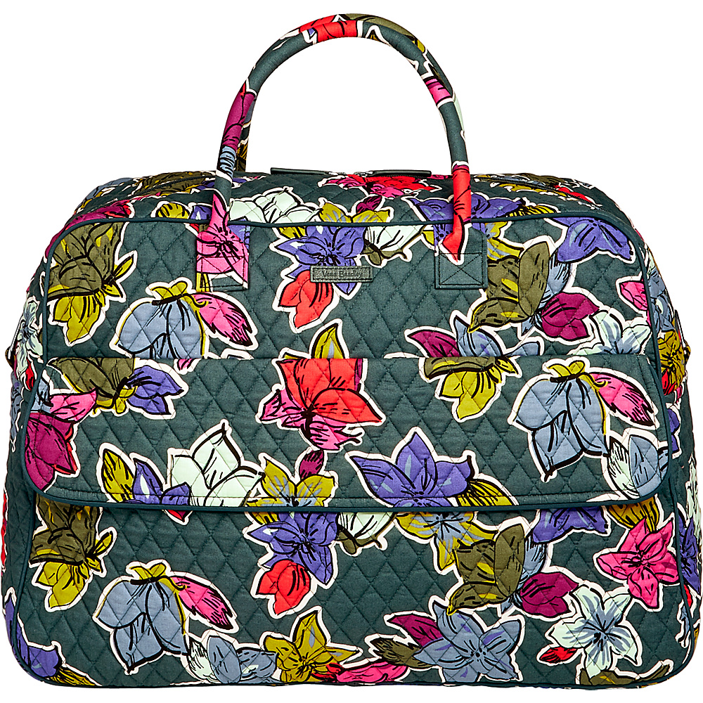 Vera Bradley Grand Traveler Falling Flowers - Vera Bradley Luggage Totes and Satchels - Luggage, Luggage Totes and Satchels