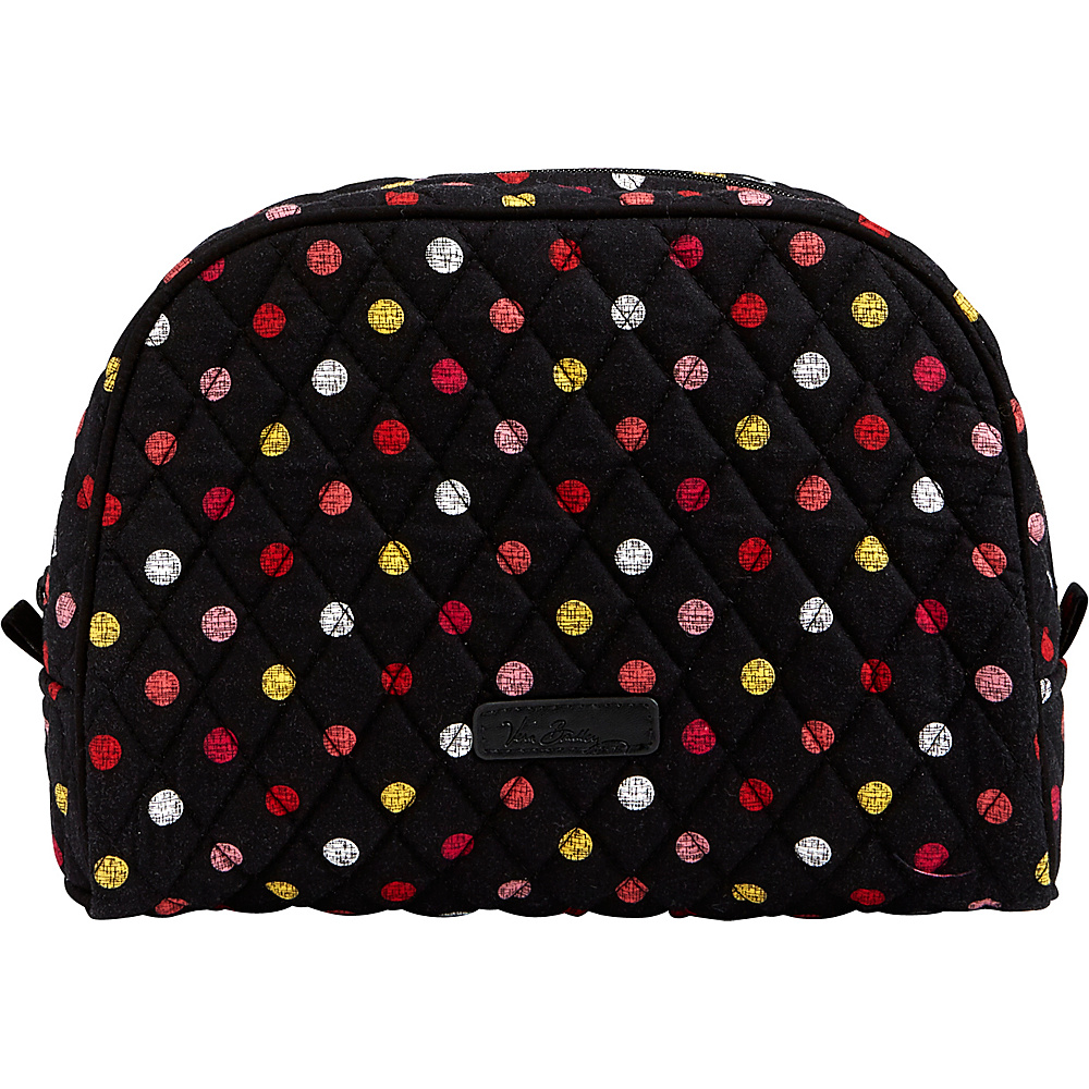 Vera Bradley Large Zip Cosmetic Havana Dots - Vera Bradley Womens SLG Other - Women's SLG, Women's SLG Other