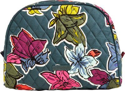 Vera Bradley Large Zip Cosmetic Falling Flowers - Vera Bradley Women's SLG Other