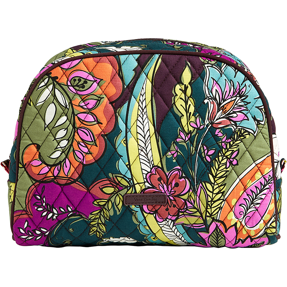 Vera Bradley Large Zip Cosmetic Autumn Leaves - Vera Bradley Womens SLG Other - Women's SLG, Women's SLG Other