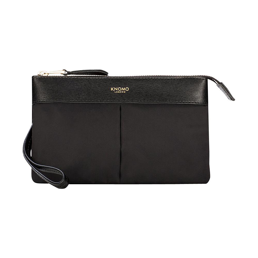 KNOMO London Dering Power Purse Clutch Black - KNOMO London Fabric Handbags
