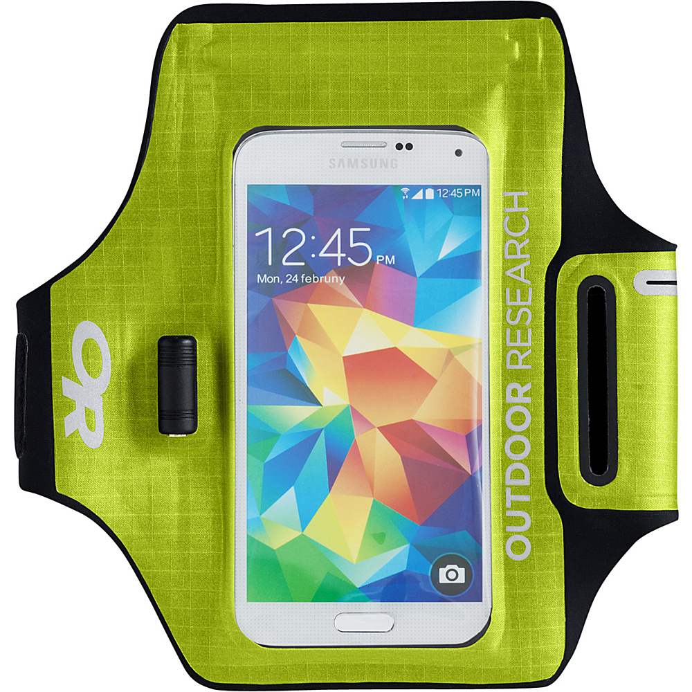Outdoor Research Sensor Armband Lemongrass – One Size - Outdoor Research Electronic Cases - Technology, Electronic Cases