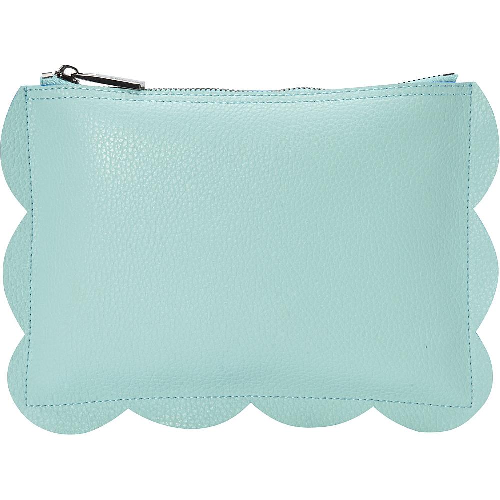 deux lux Leyla Pouch Aqua deux lux Manmade Handbags