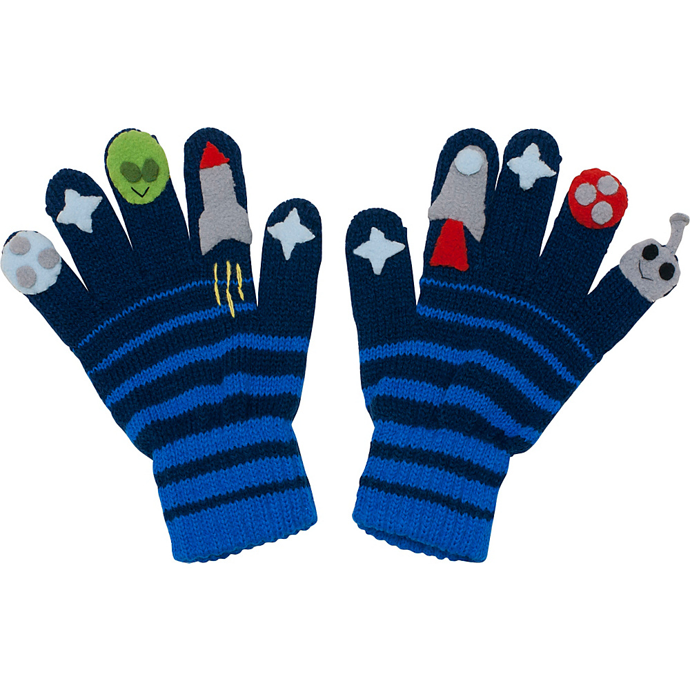 Kidorable Space Hero Gloves M - Blue - Kidorable Hats/Gloves/Scarves - Fashion Accessories, Hats/Gloves/Scarves