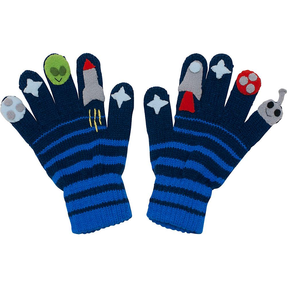 Kidorable Space Hero Gloves Blue Medium Kidorable Hats Gloves Scarves