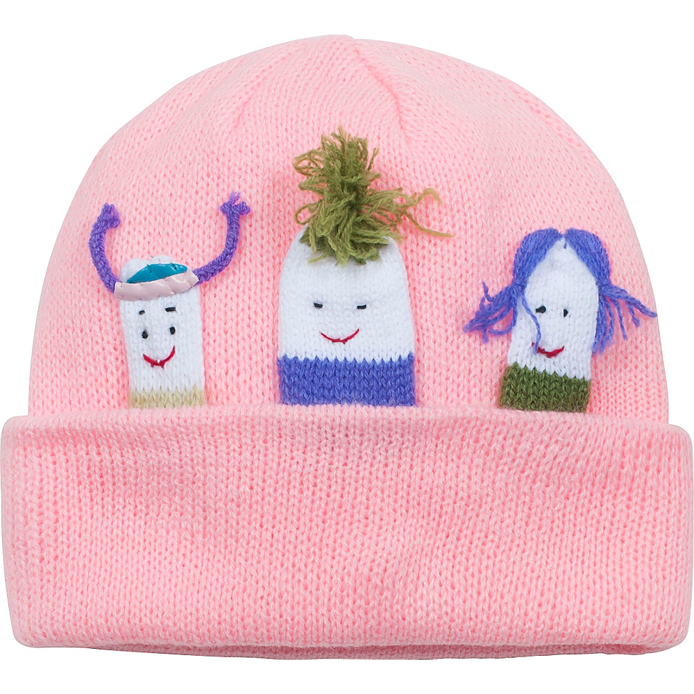 Kidorable Girls Knit Hat Pink One Size Kidorable Hats Gloves Scarves