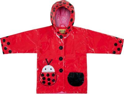 Kidorable Ladybug All-Weather Raincoat 3T - Red - Kidorable Men's Apparel
