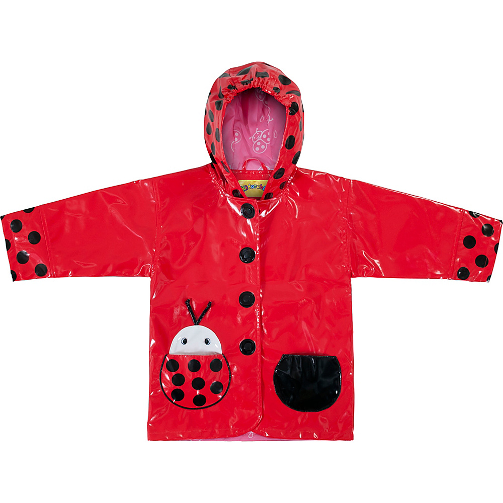Kidorable Ladybug All-Weather Raincoat 5/6 - Red - Kidorable Mens Apparel - Apparel & Footwear, Men's Apparel