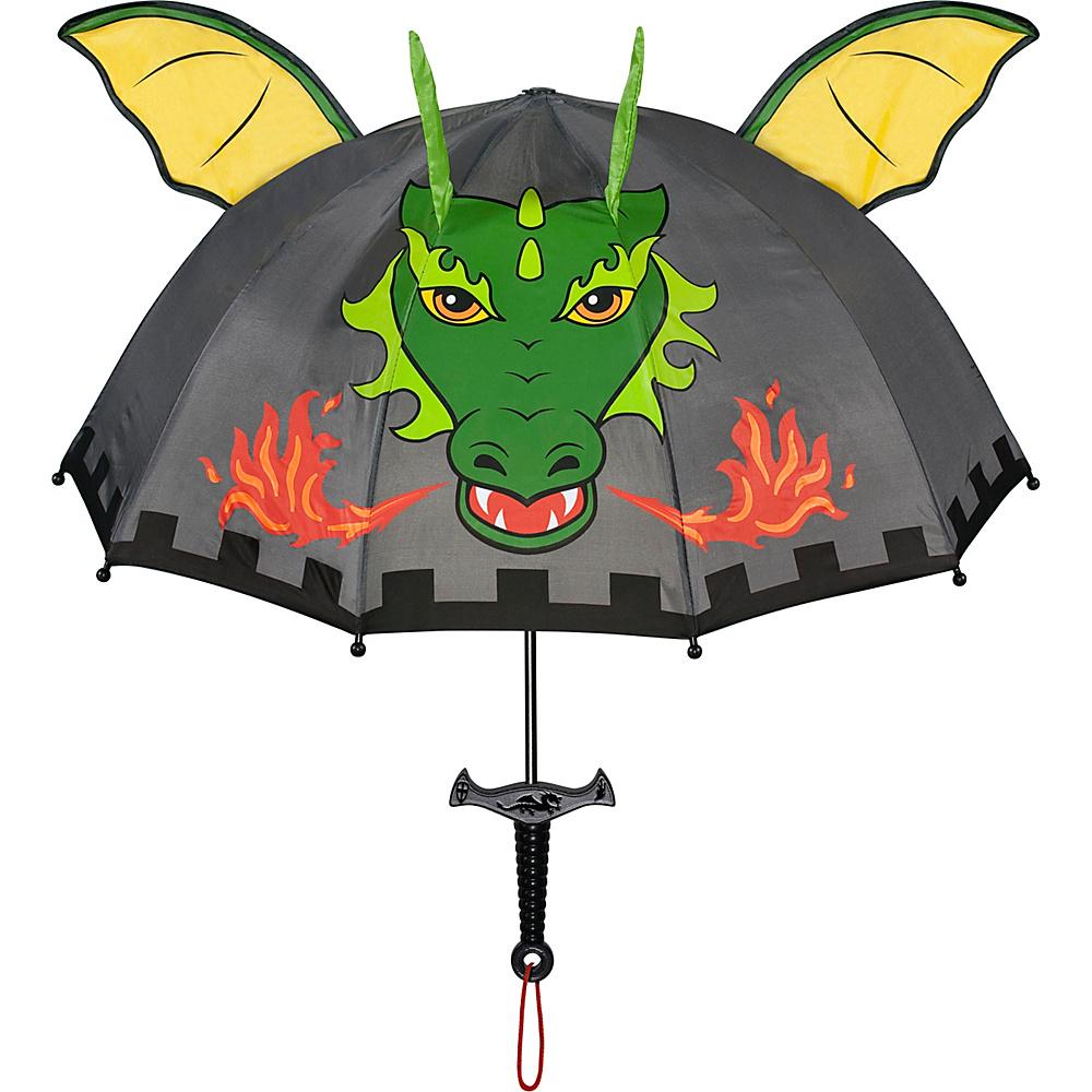 Kidorable Dragon Knight Umbrella Grey - One Size - Kidorable Umbrellas and Rain Gear - Travel Accessories, Umbrellas and Rain Gear