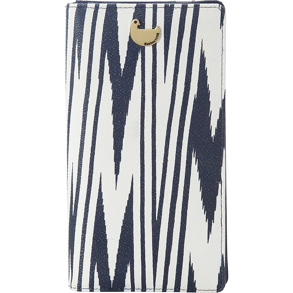 Buxton Chevron Travel Collection Essential Travel Wallet Navy - Buxton Travel Wallets - Travel Accessories, Travel Wallets
