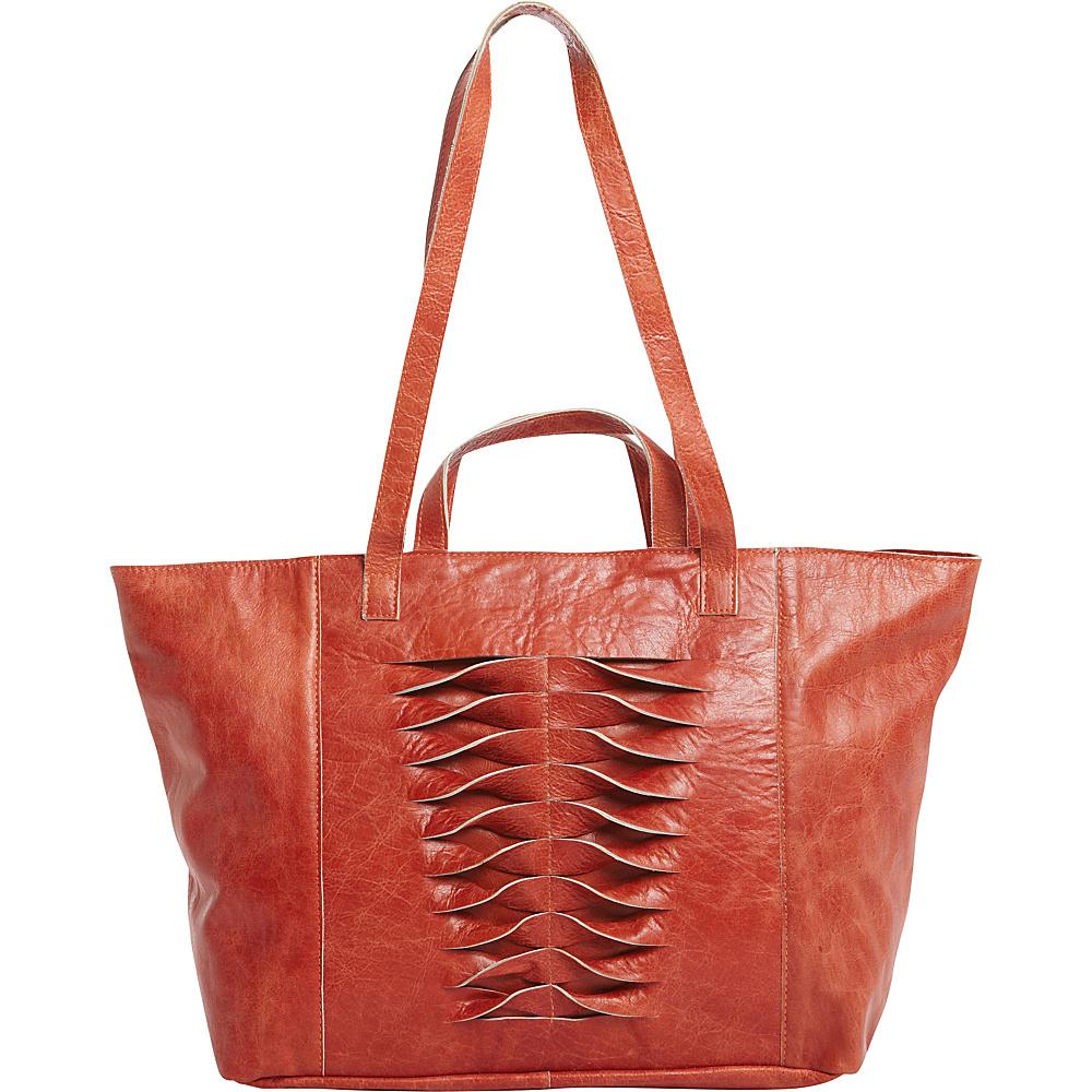 Latico Leathers Hawkin Tote Vintage Red - Latico Leathers Leather Handbags - Handbags, Leather Handbags