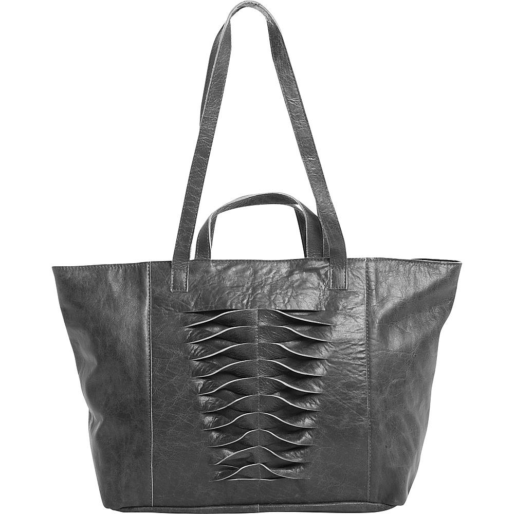 Latico Leathers Hawkin Tote Washed Black - Latico Leathers Leather Handbags - Handbags, Leather Handbags