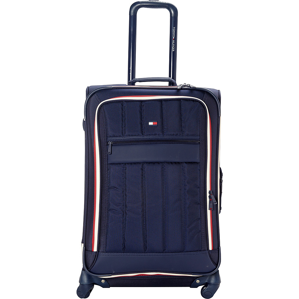 Tommy Hilfiger Luggage Classic Sport 25 Exp. Upright Navy Navy Tommy Hilfiger Luggage Softside Checked
