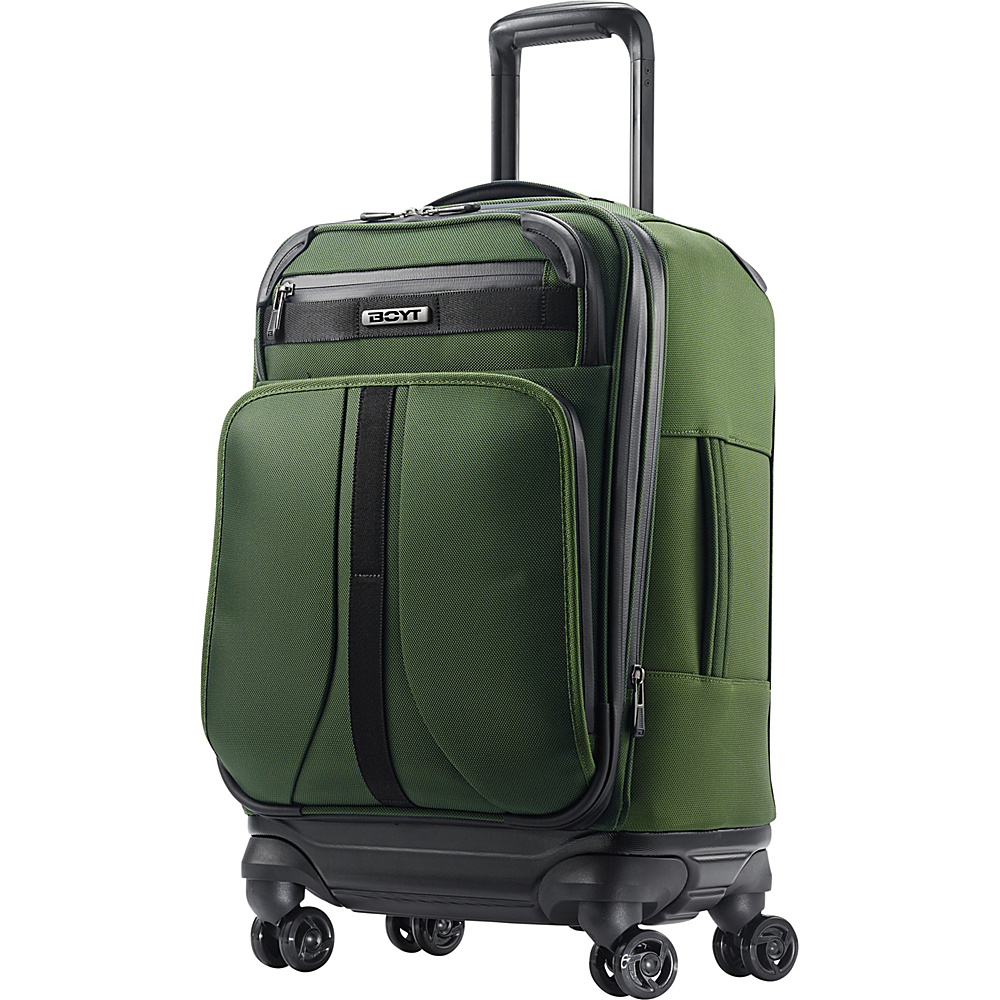 "Boyt Mach 1 Softside Spinner 21"" Forest Green - Boyt Small Rolling Luggage"
