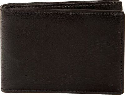 Boconi Becker RFID Slimster Black w/ Aspen - Boconi Men's Wallets