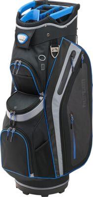 Burton Golf Premier Pro Cart Bag Black/Silver/Royal - Burton Golf Golf Bags