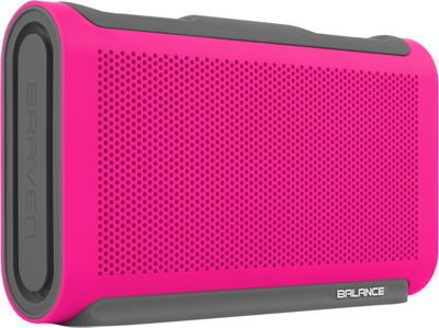 Braven Balance Wireless HD Bluetooth Speaker Magenta/Gray...